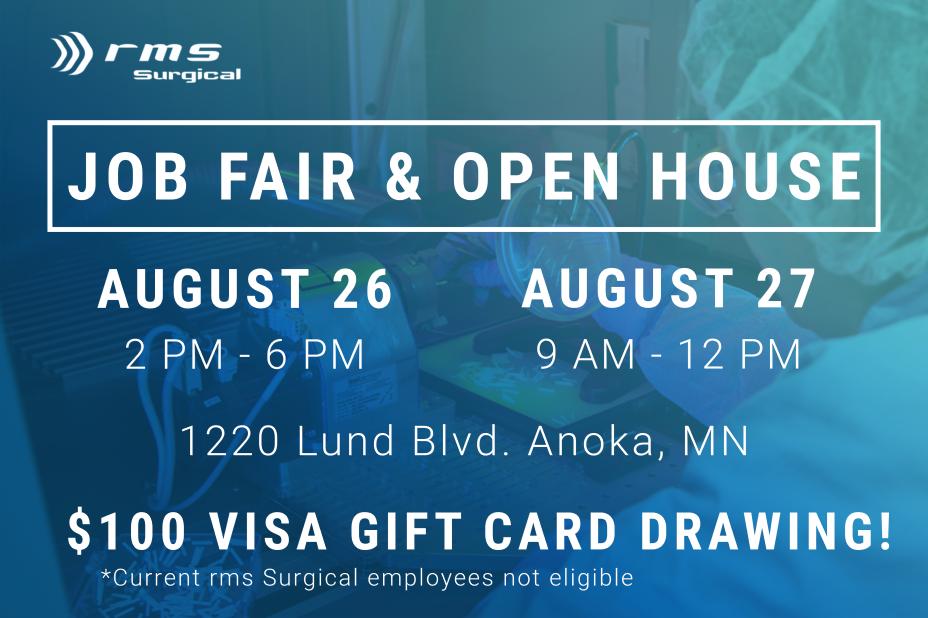 rms Surgical Job Fair August 26-27, 2021
